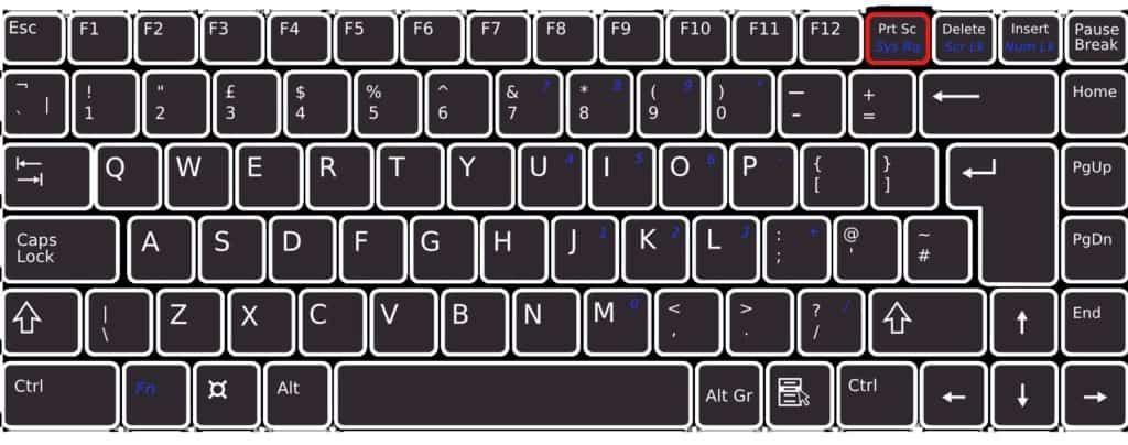 jak vytvořit screenshot na PC s Windows