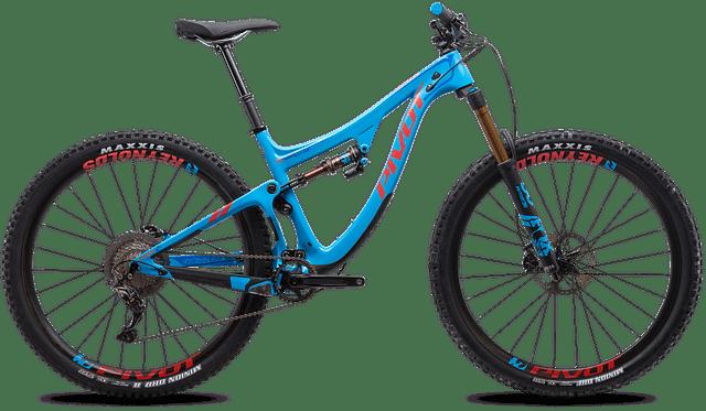 rady jak vybrat celoodpružené horské kolo