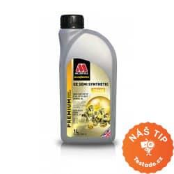 test motorového oleje - Millers Oils EE Semi Synthetic 10W-40 5 l