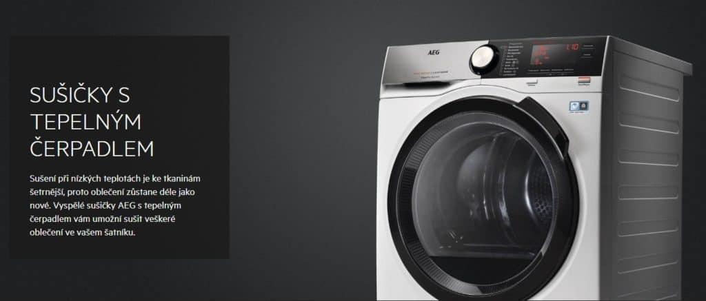 srovnání sušiček prádla AEG