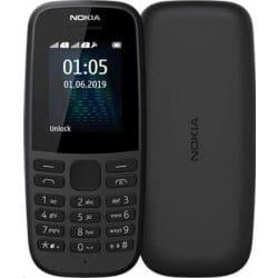 Nokia 105 (2019) - tlačítkový mobil s obří výdrží