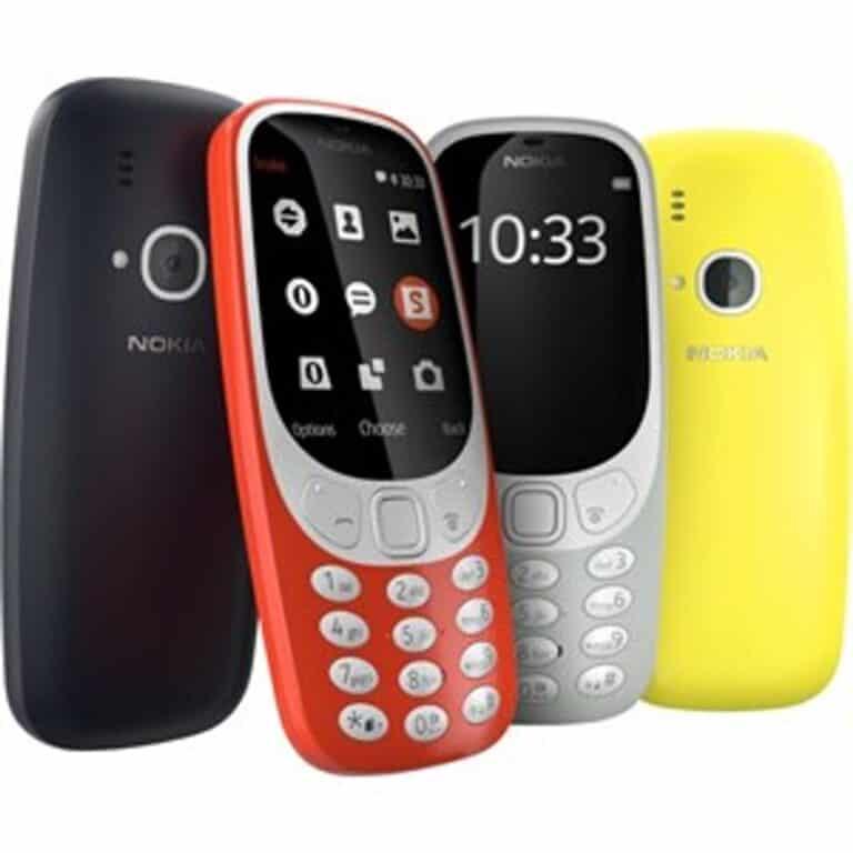 Nokia 3310 (2017) - tlačítkový mobil