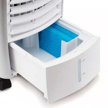 Objem zásobníku na studenou vodu u ochlazovače vzduchu