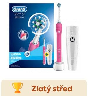 Oral-B Pro 2500 CrossAction PINK D20.513.2MX