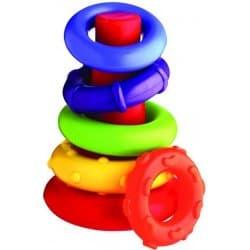test Playgro Plastové navlékací kroužky