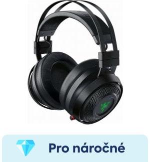 Razer Nari Ultimate- nejlepší bezdrátová herní sluchátka na hry