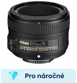 Nikon AF-S 50mm f/1,8G recenze