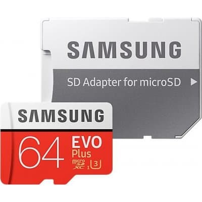 Samsung microSDXC 64GB UHS-I U3 MB-MC64GA/EU