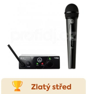 testy AKG WMS 40 Mini Vocal Set