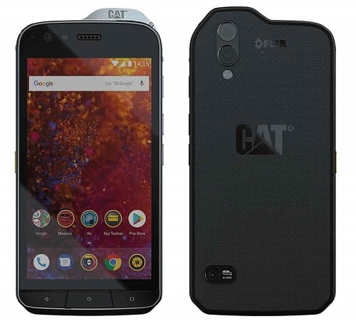 Caterpillar CAT S61 Dual SIM - nejlepší CAT telefon