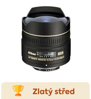 Nikon 10,5mm f/2,8G ED DX FishEye - test