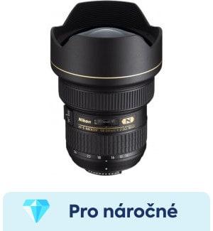 Nikon 14-24mm f/2,8G ED AF-S - srovnání objektivů