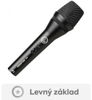 recenze a test ručního mikrofonu AKG P 3S