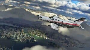 Microsoft Flight Simulator - hra na počítač, simulátor