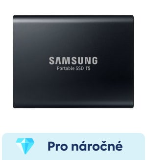 Samsung T5 1TB - nejlepší externí SSD disk a test
