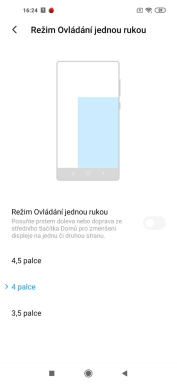 Recenze Xiaomi Redmi Note 9 systém