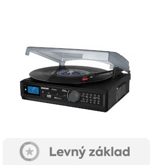 Sencor STT 212U - levný gramofon s reproduktory