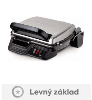 recenze Tefal Meat Grill Ultra Compact 600 Classic GC305012