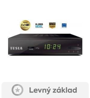Tesla TE-300- DVB-T2 set-top box vhodný i pro starší TV
