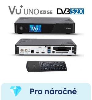 recenze Vu+ UNO 4K SE - nejlepší satelitní přijímač