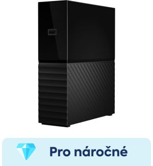 "WD My Book 8TB, 3,5"", USB3.0, WDBBGB0080HBK-EESN test"