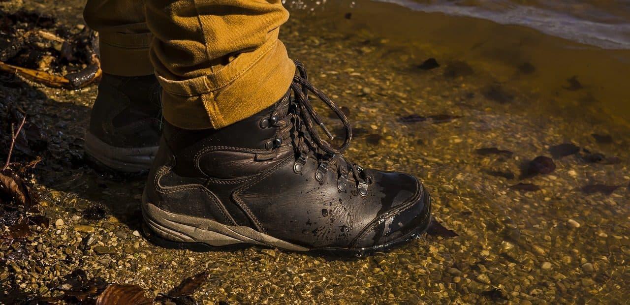 voděodolné trekové boty