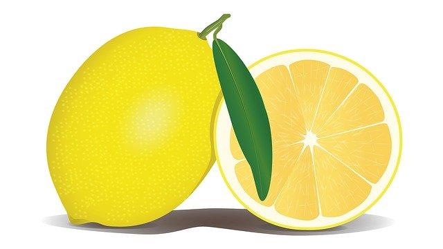 citron pro čištění trouby - postup