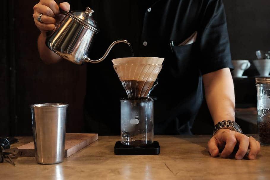 historie překapávané kávy