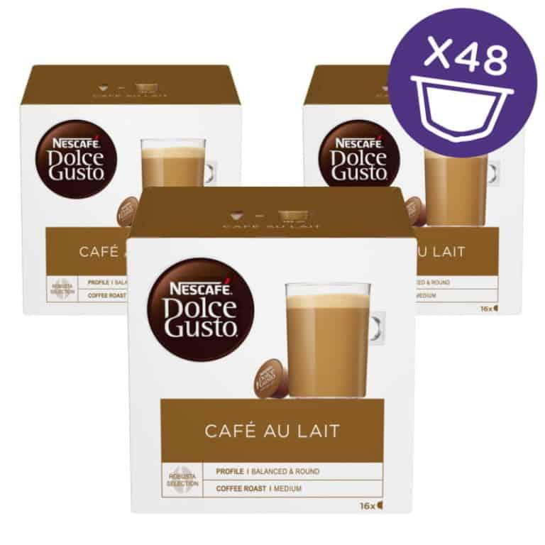 Nescafé Dolce Gusto Café Au Lait kávové kapsle 48 ks