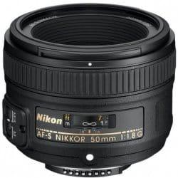 Nikon AF-S 50 mm f/1,8G