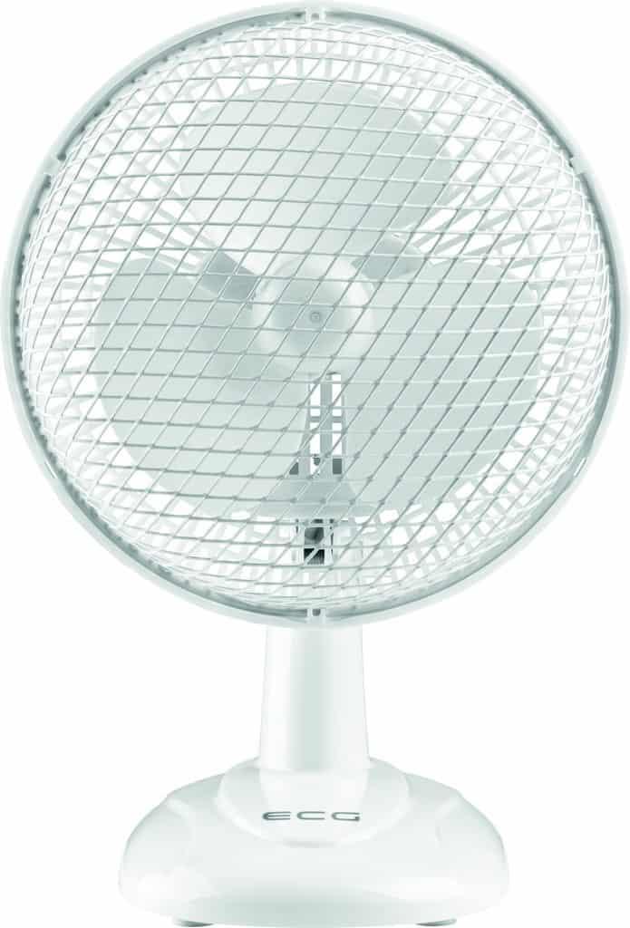 stolní ventilátor jak ochladit byt
