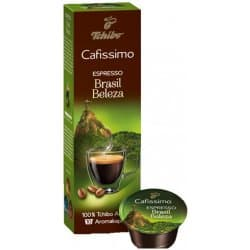 Tchibo Cafissimo Espresso Brasil pražená mletá káva 10 ks