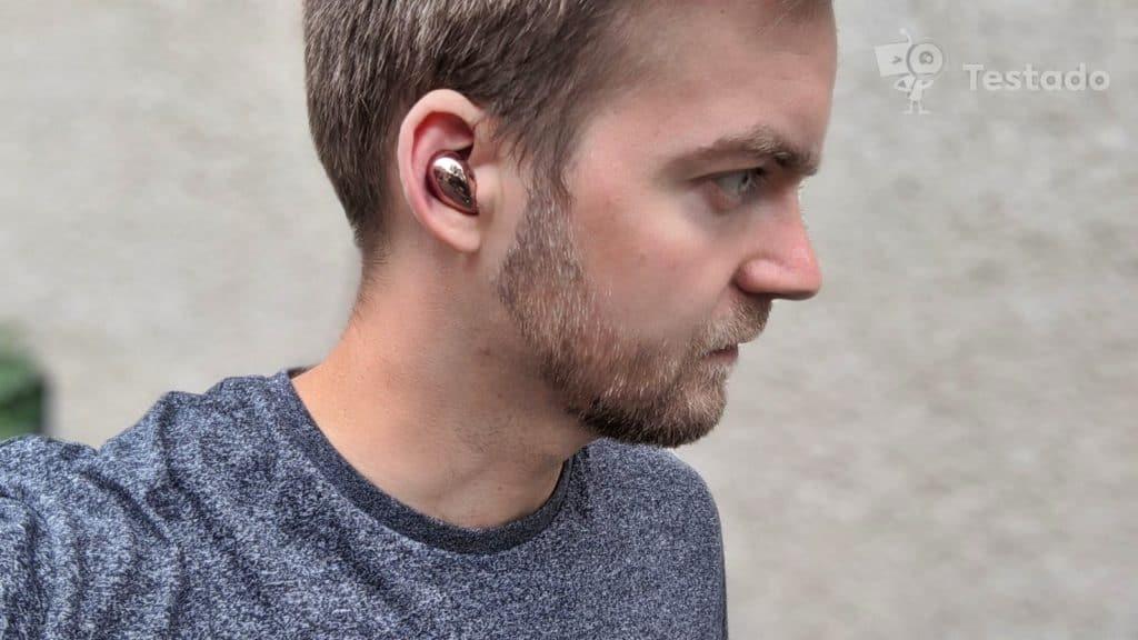 Recenze bezdrátových sluchátek Samsung Galaxy Buds Live aplikace
