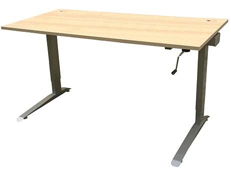 Výškově nastavitelný stůl mechanický