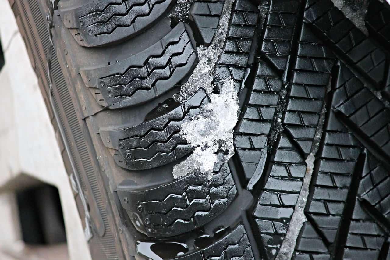 vzor zimních pneumatik