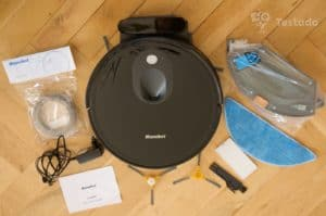 Mamibot EXVAC680S - obsah balení