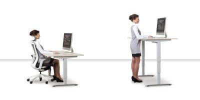 Nejlepší výškově nastavitelné stoly pro práci ve stoje