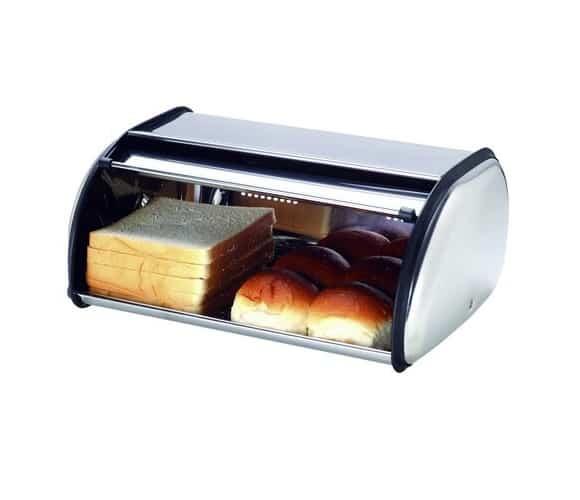 Nerezový chlebník recenze