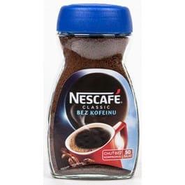 Bezkofeinová káva test