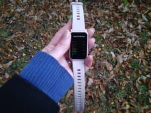 chytré hodinky HONOR ES tepová frekvence