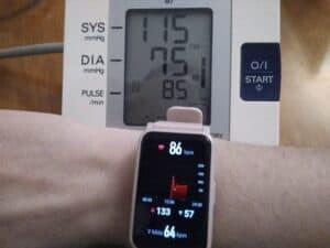chytré hodinky HONOR ES tep