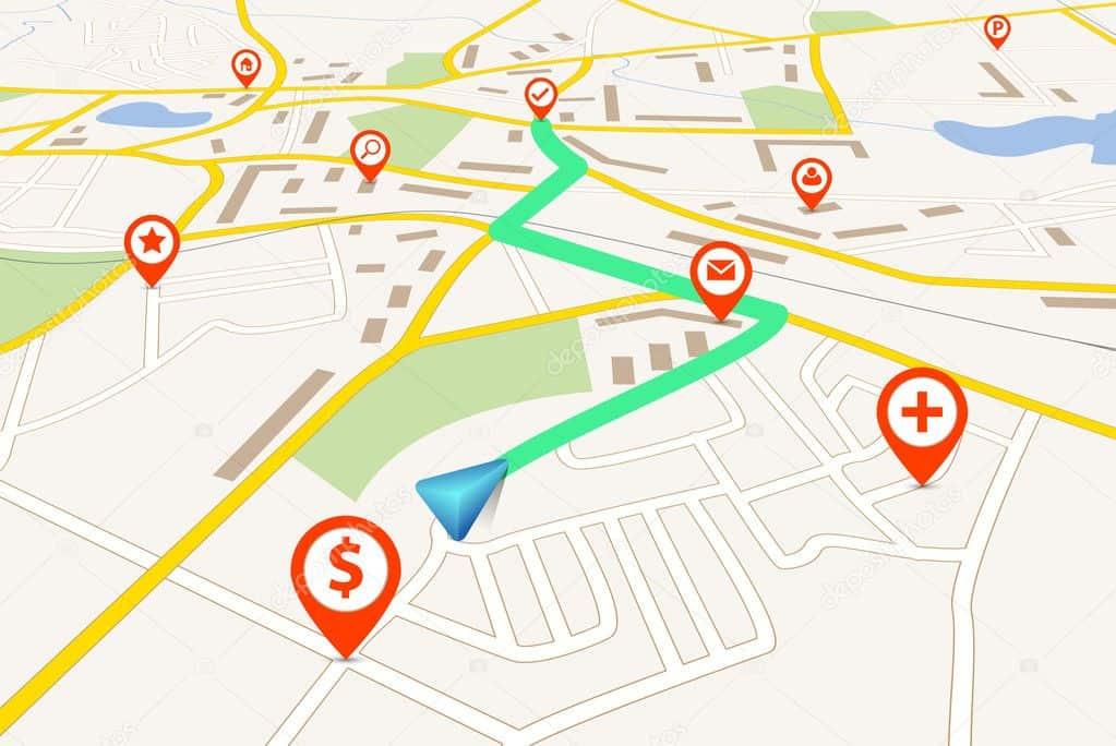 Mapy a aktualizace GPS navigací