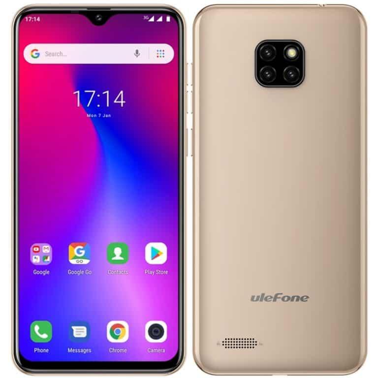 test levných mobilů UleFone Note 7