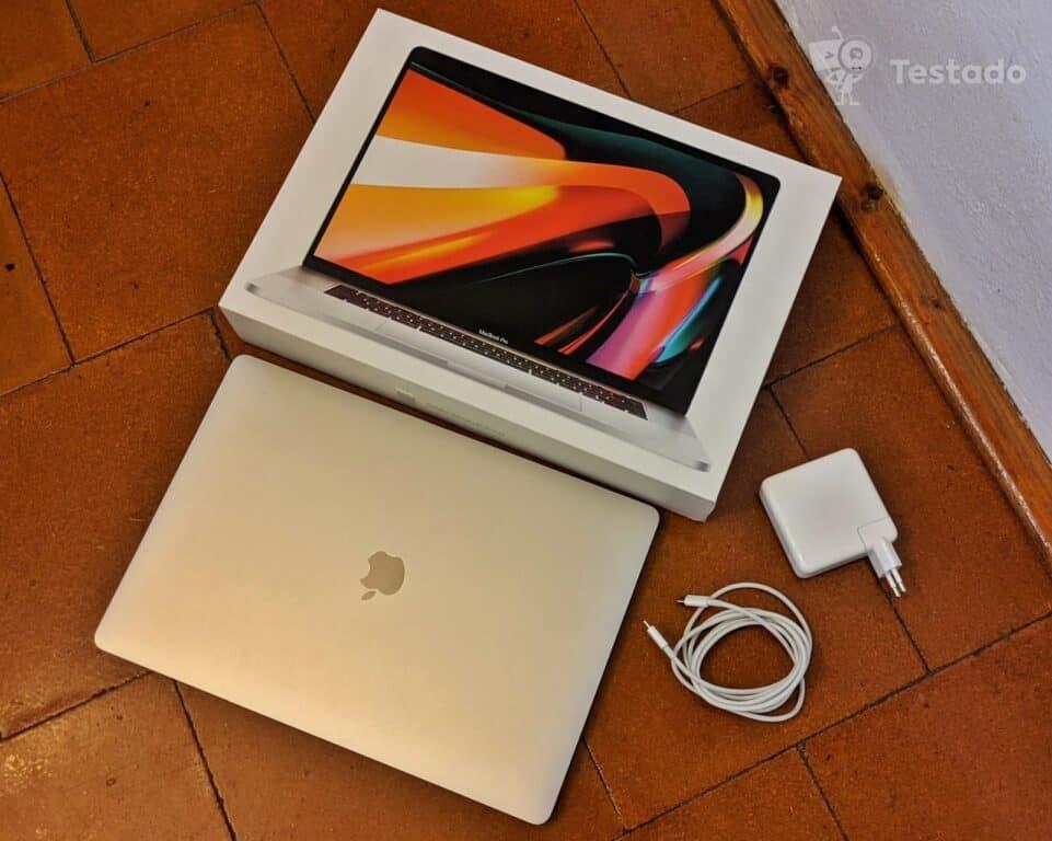 """Recenze MacBook Pro 16"""" Touch Bar - obsah balení"""