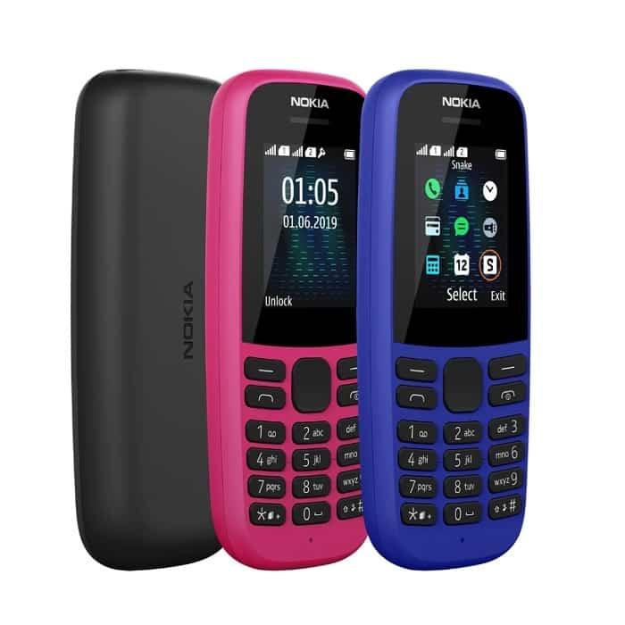 test Nokia 105 2019
