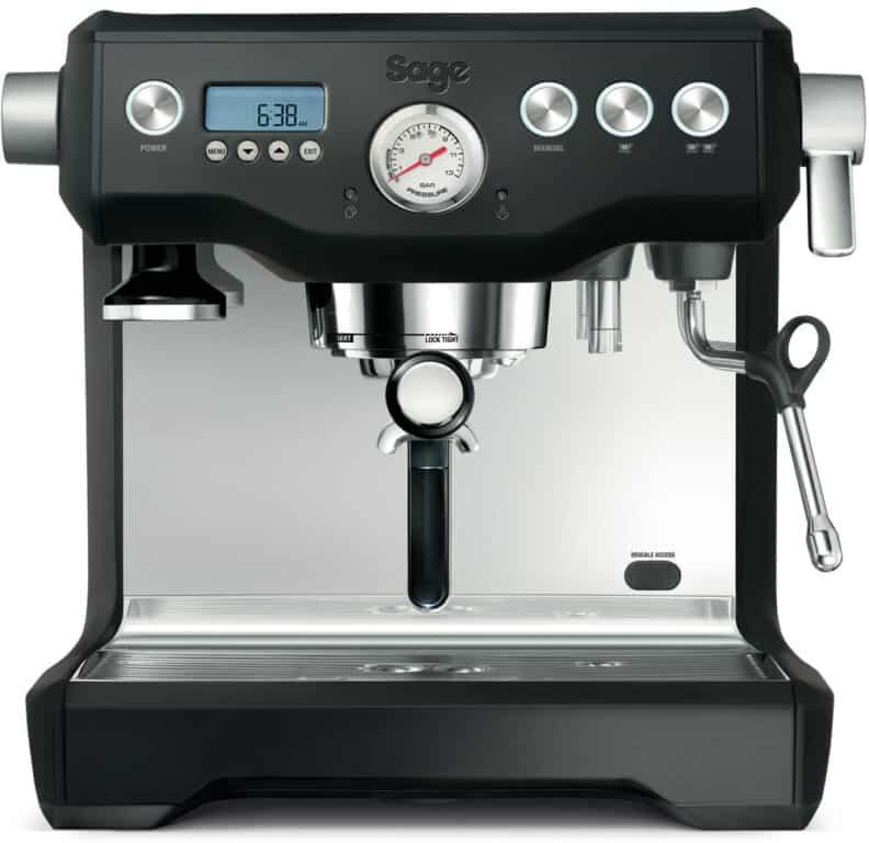 recenze Sage BES 920 - pákový kávovar