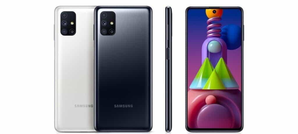Samsung Galaxy M51 - Mobil s nejdelší výdrží baterie 2020