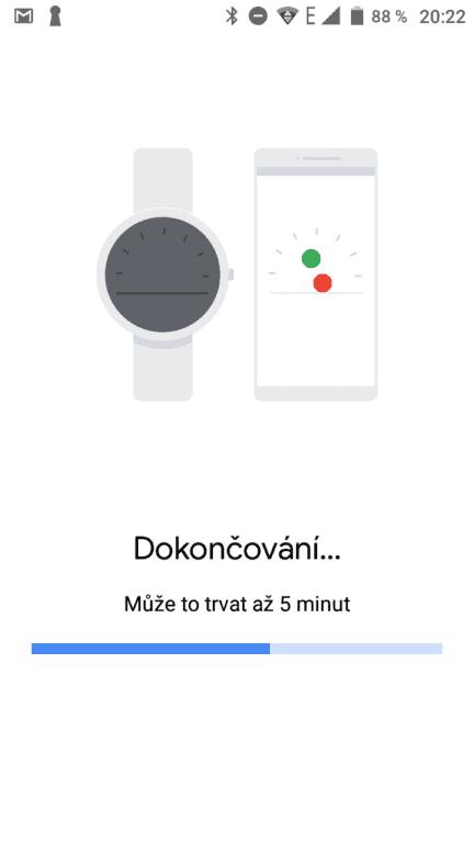 TicWatch pro 2020 připojení k telefonu