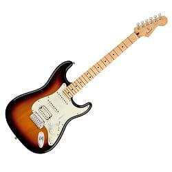 elektrická kytara FENDER Player Stratocaster MN 3TS