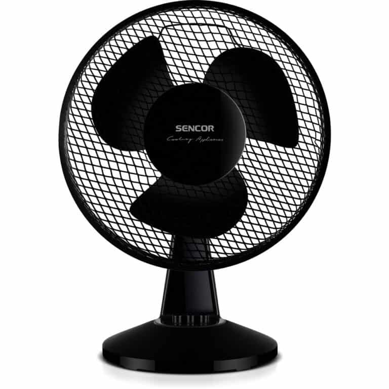 Sencor SFE 2311BK - recenze ventilátoru